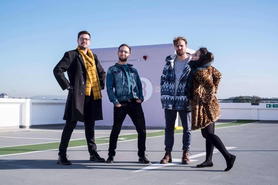 New label mates BooHooHoo. Photograph by Brian Sweeney