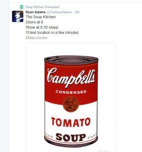 Ryan Adams Soup