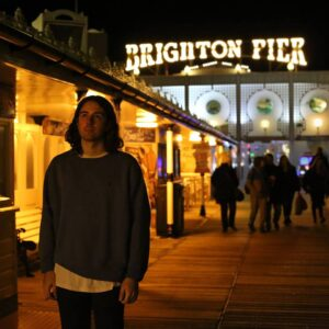 Charlie and Brighton Pier