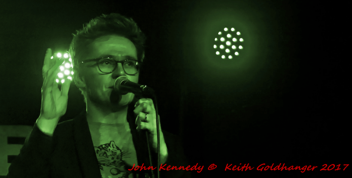 JOHN KENNEDY - Radio X (Xposure) By Keith Goldhanger 2017