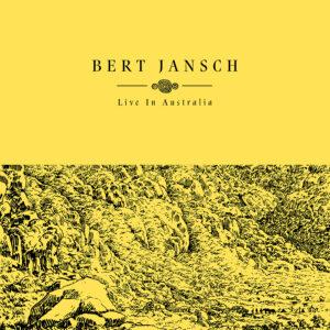 EARTHLP017 Bert Jansch - Live In Australia OUTER SLEEVE