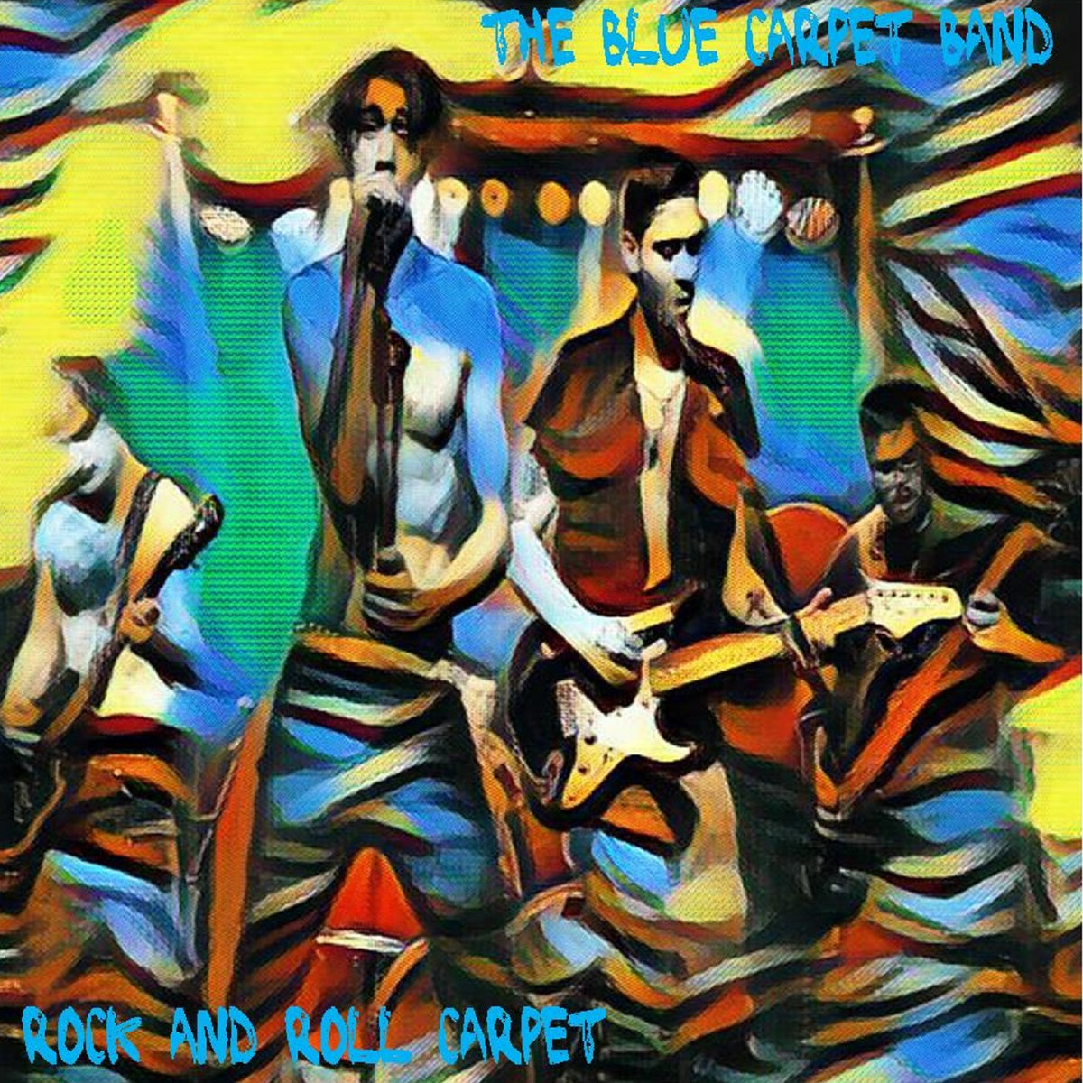 blue carpet band