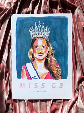 Alimony Hustle Miss GB cover art