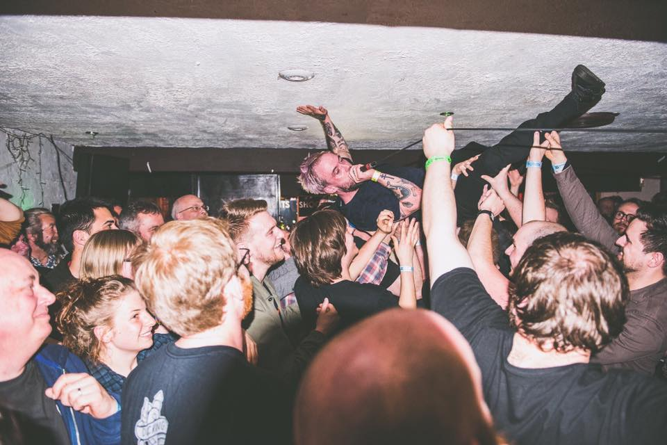 IDLES : Southsea : Live Review 'a maelstrom art-post-punk attack for the 2010s; '