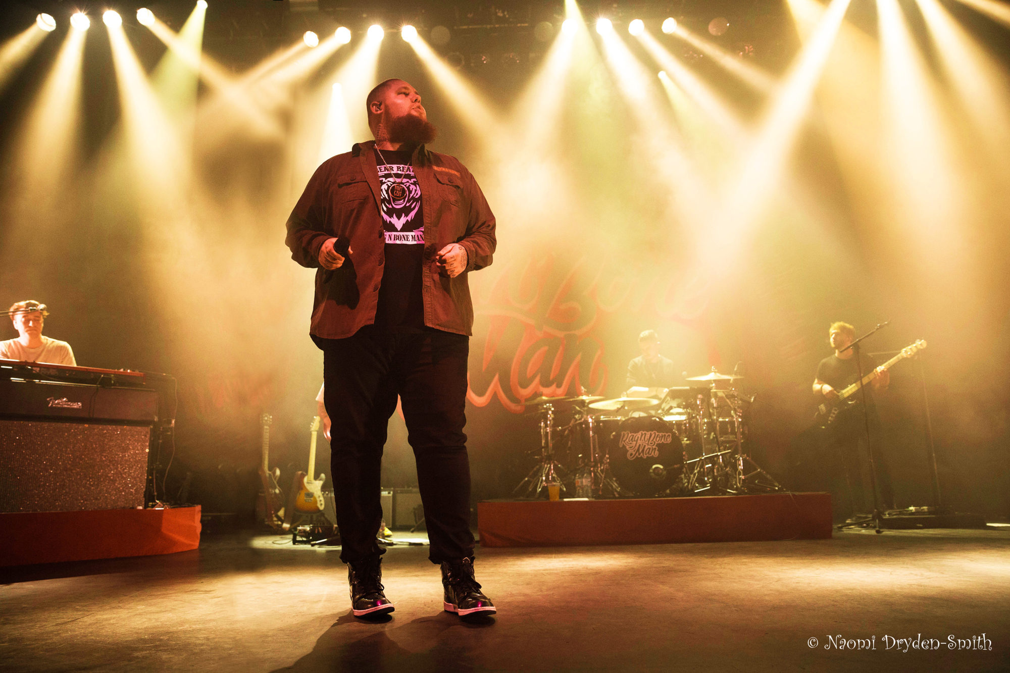 Rag 'n' Bone Man8: O2 Shepherds Bush © Naomi Dryden-Smith