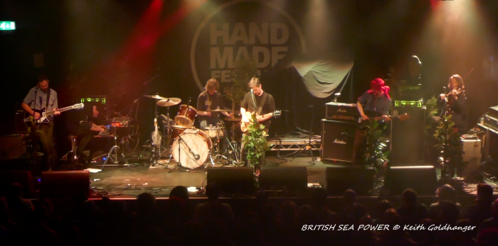 BRITISH SEA POWER Leicester Handmade by KEITH GOLDHANGER
