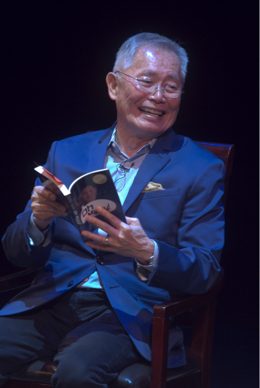 George Takei: live review