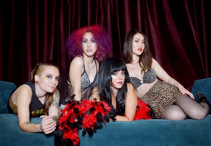 The Glam Skanks: interview
