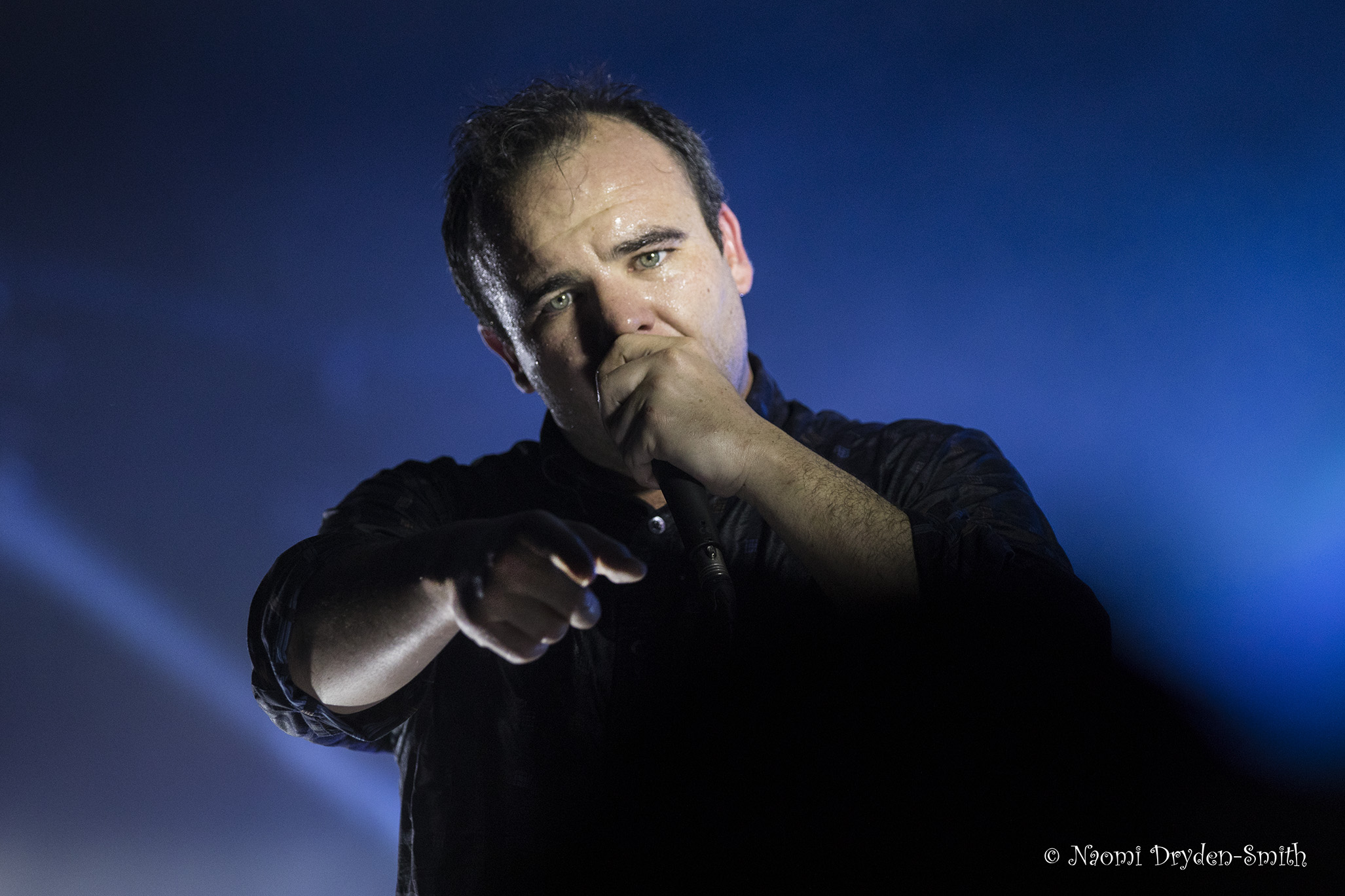 Future Islands: The Dome © Naomi Dryden-Smith