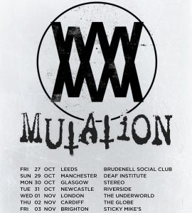 Mutation Tour Flyer, Debut Tour
