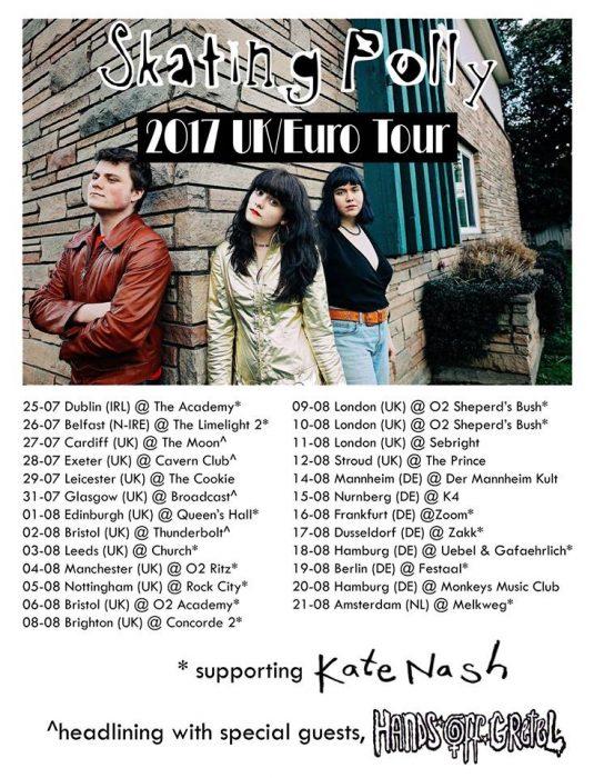 polly euro tour 2017