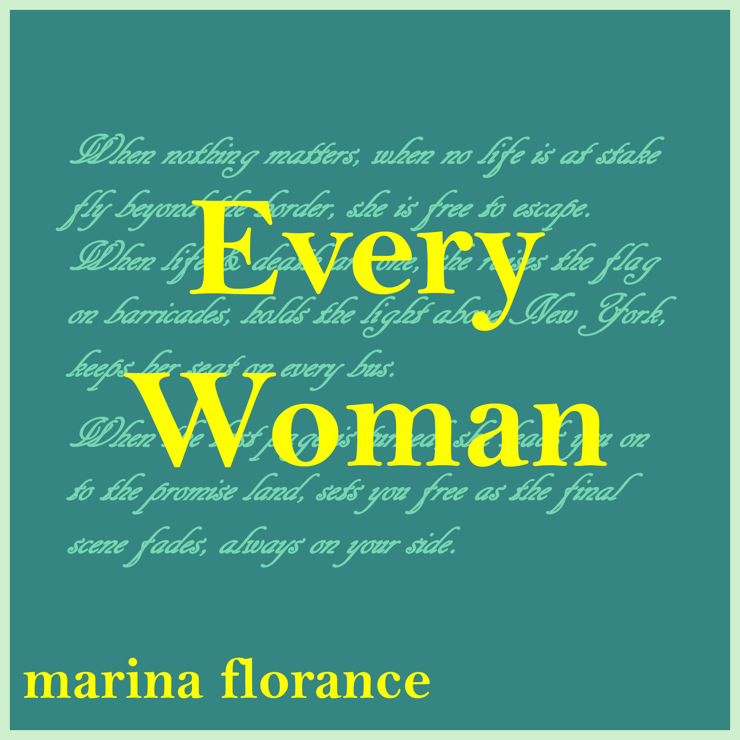 Every Woman - Marina Florance