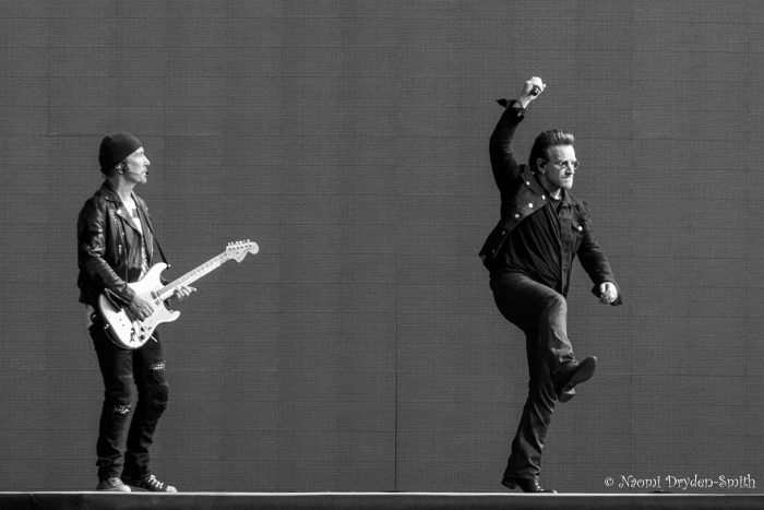 U2 © Naomi Dryden-Smith