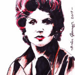 Elsie Tanner Sketch by Brian Gorman