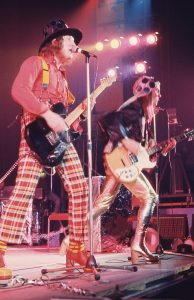 Slade - Noddy Holder & Dave Hill live (c) Barry Plummer 1972