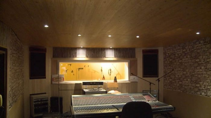 Stawberry Studios Stockport Control Room