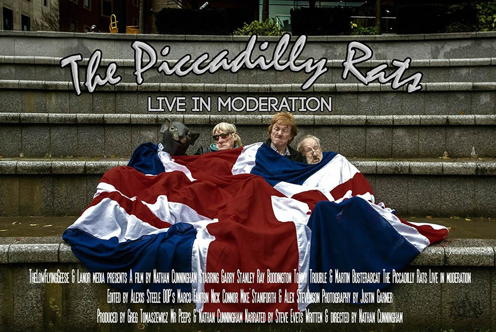 The Piccadilly Rats - Live In Moderation