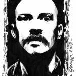 Tom Hardy Sketch by Brian Gorman