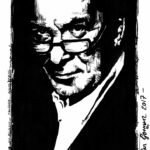 Tony Wilson Sketch by Brian Borman