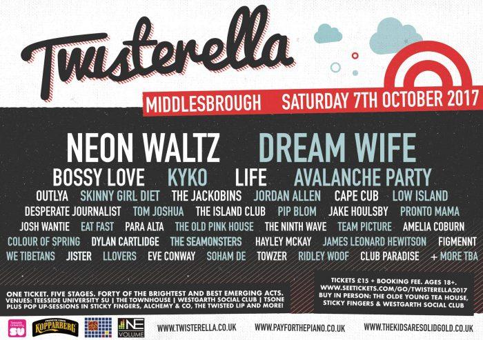 Twisterella Lineup 2017