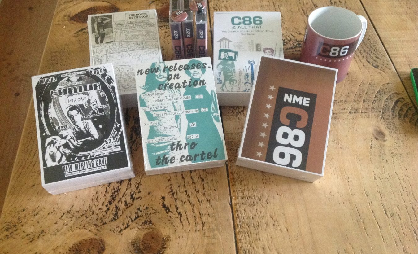 Great new book on the truth behind C86 and mid eighties indie culture : C86 & ALL THAT: THE CREATION OF INDIE IN DIFFICULT TIMES