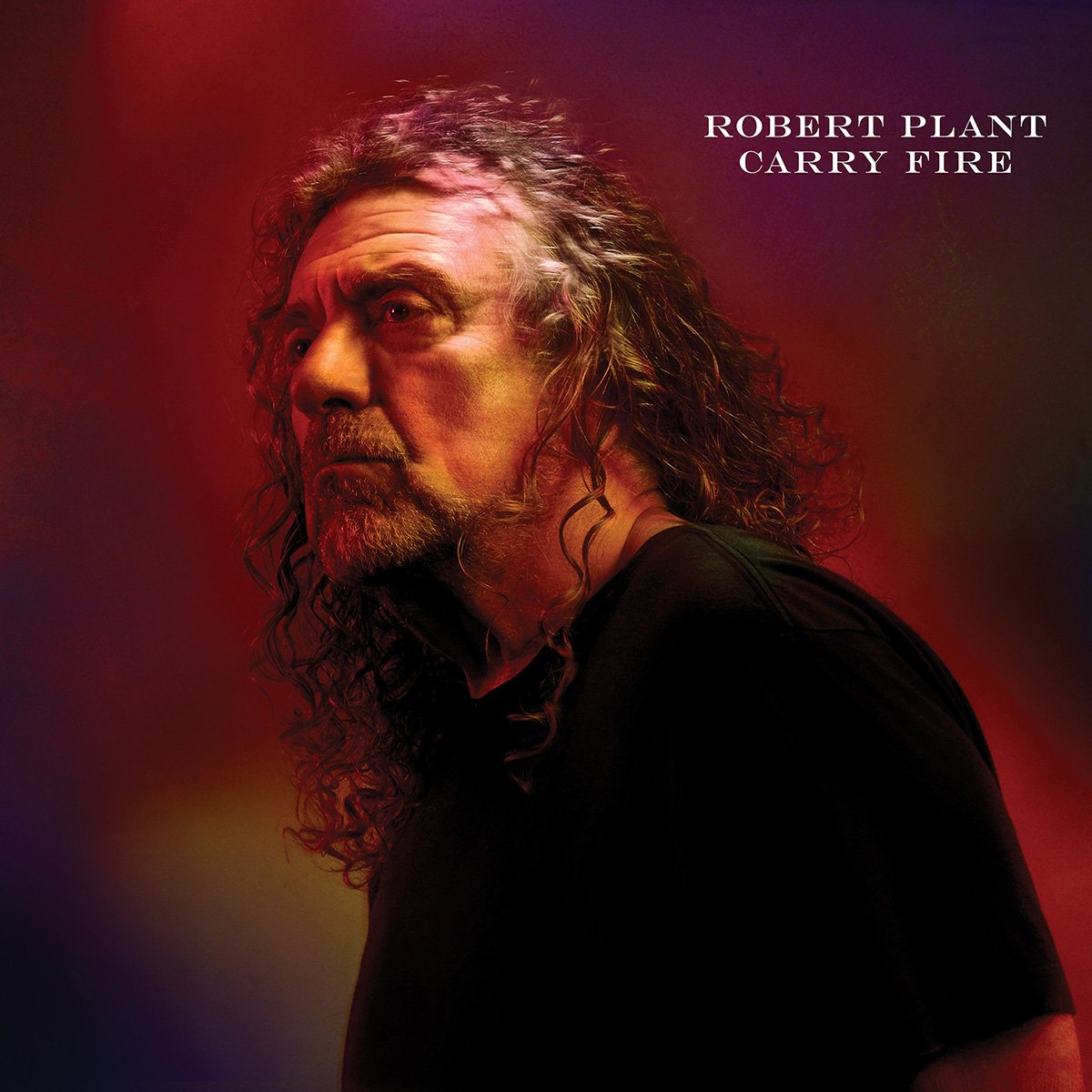 Artwork for Robert Plant's 2017 album Carry Fire