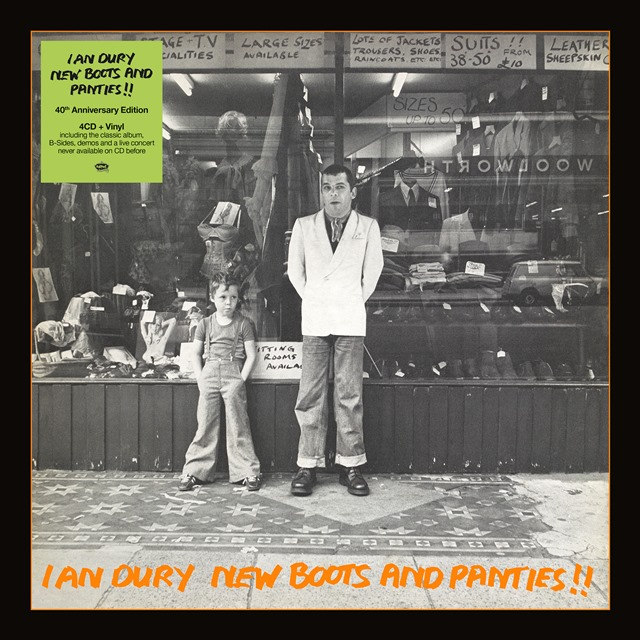 Ian dury new boots and panties 40th anniversary edition album ian dury new boots and panties 40th anniversary edition album review solutioingenieria Image collections