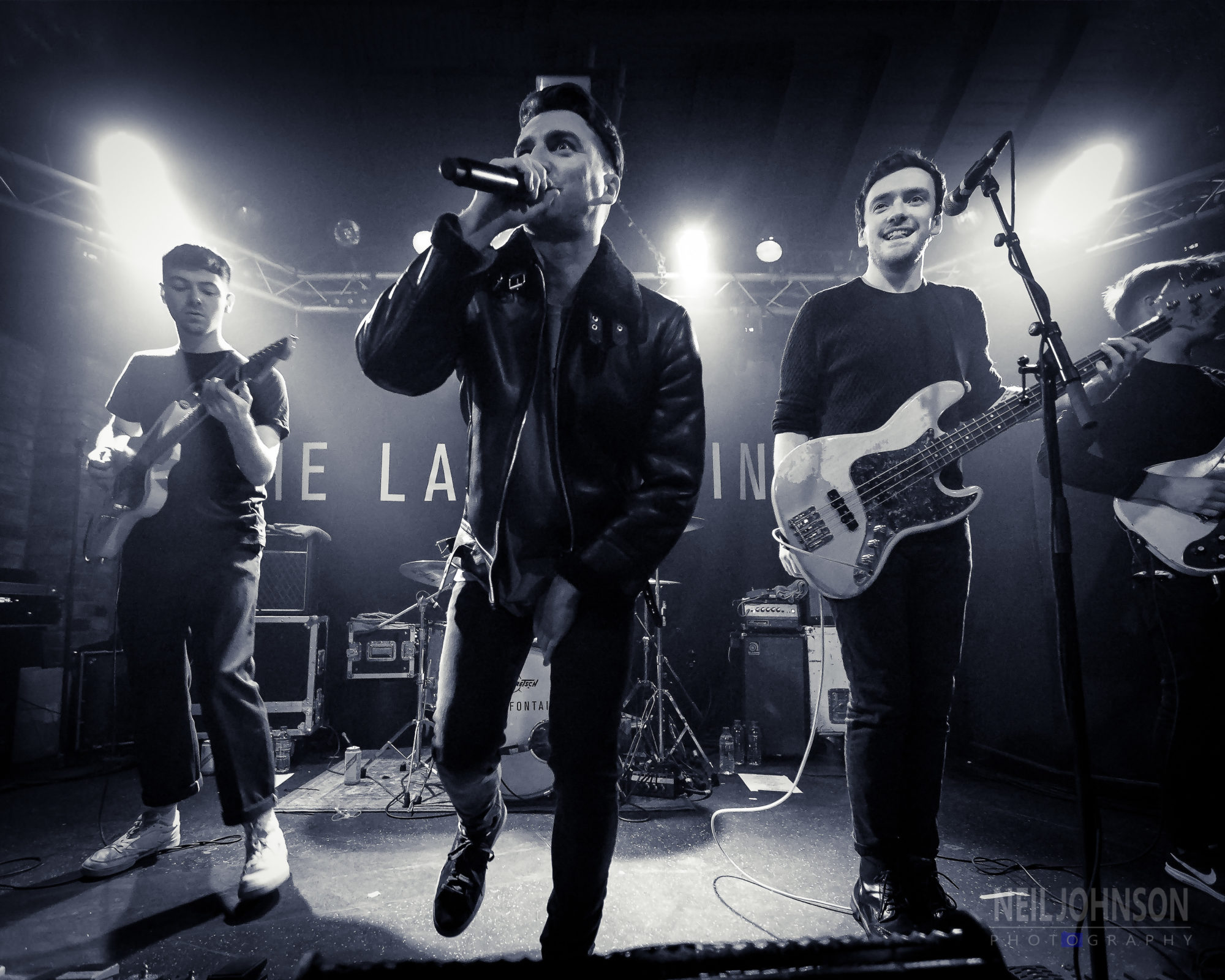 The LaFontaines, Nottingham Rock City Basement