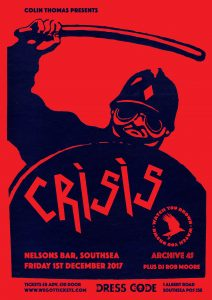 Crisis Poster Portsmouth Small