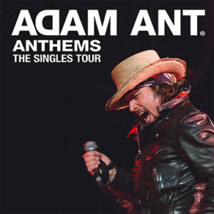 Adam Ant : London Roundhouse : 2 live reviews!