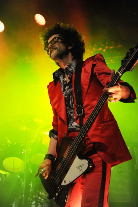 BERLIN, GERMANY - NOVEMBER 14 : The Darkness at Columbia Theater on November 15, 2017 in Berlin, Germany. (Photo by Martyn Goodacre/Redferns)