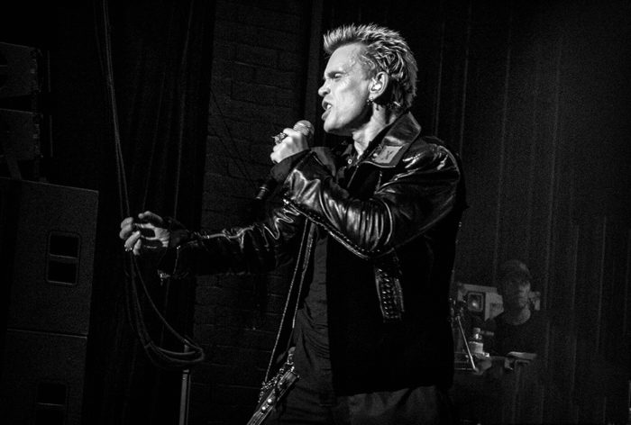 Billy Idol - photo by Melanie Smith