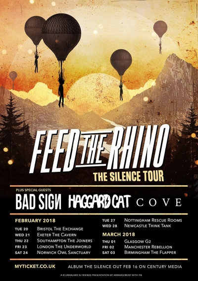 Haggard Cat / Feed The Rhino Flyer