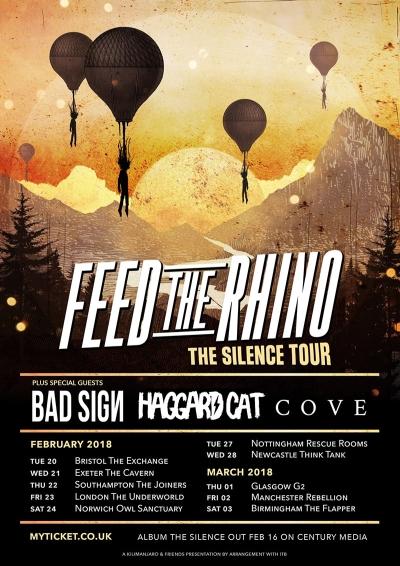 Haggard Cat / Feed The Rhino Flyer