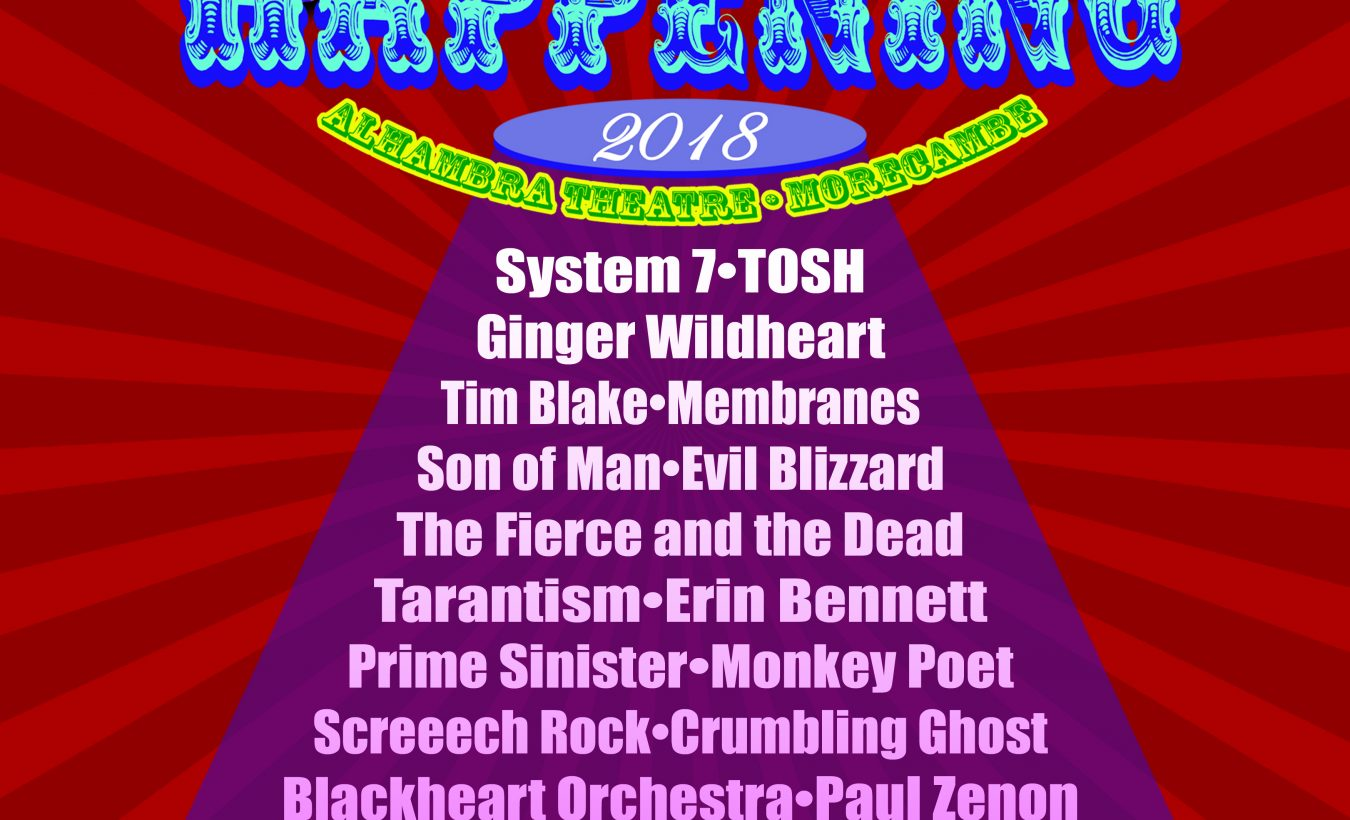 Hawkwind announce great bill for Hawkeaster festival in Morecambe
