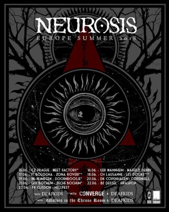 Neurosis 2018 Europe