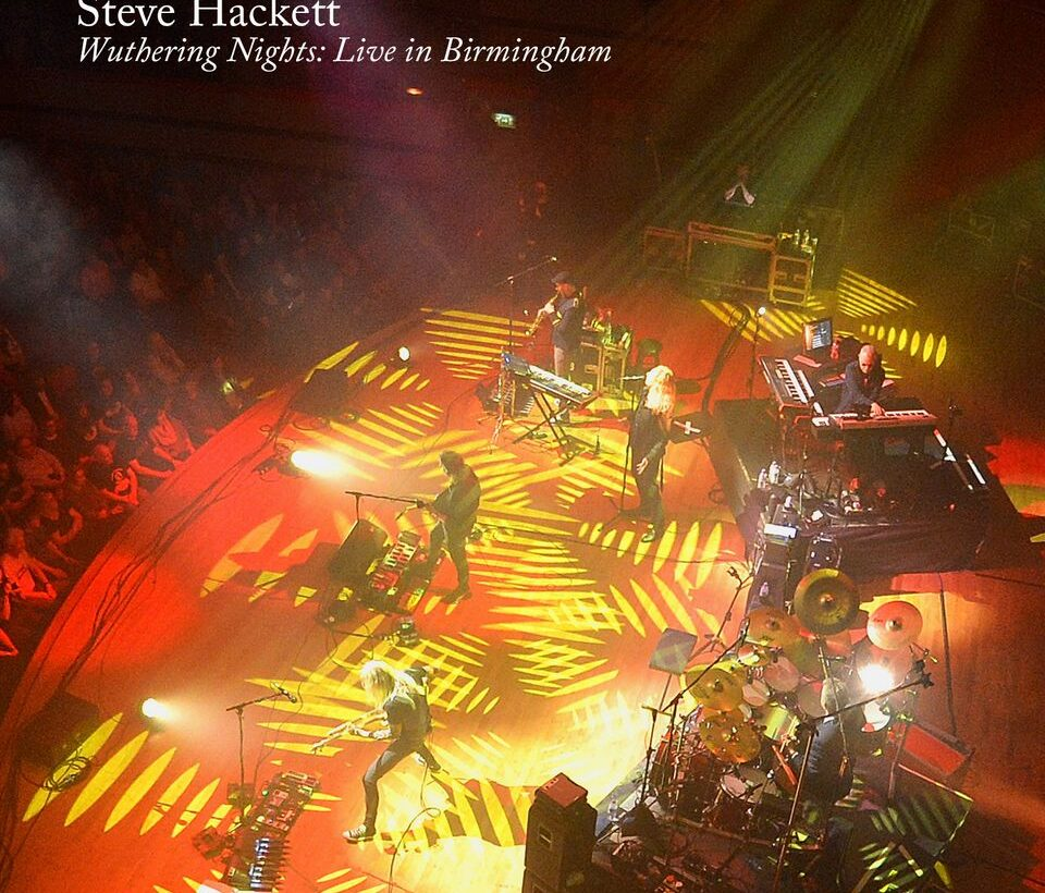 Steve Hackett: Wuthering Nights – album review