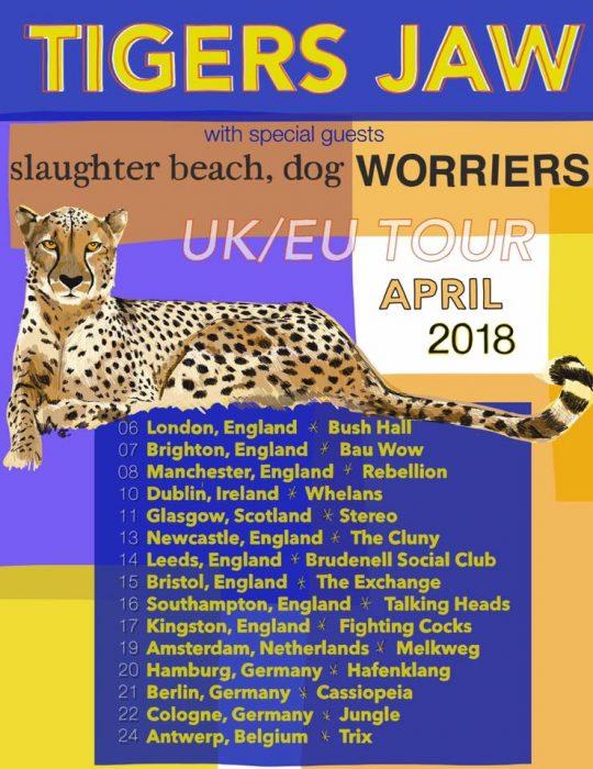 Tigars Jaw UK Tour