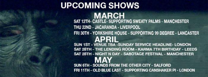 MOLD Tour Dates