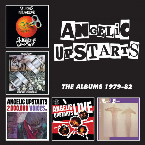 Angelic Upstarts – The Albums 1979-82 – Album Review