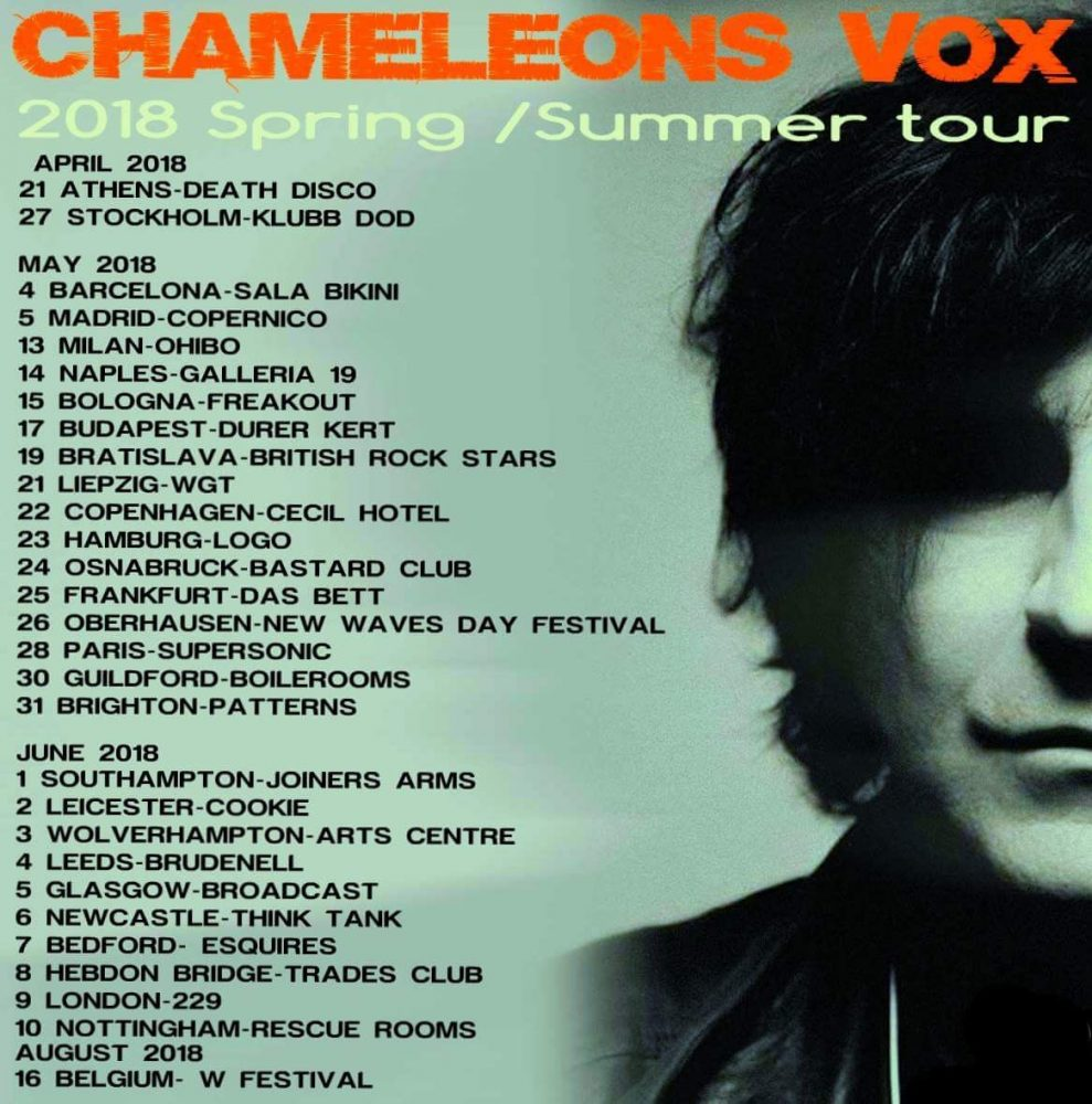 Chameleons Mark Burgess - Favourite Albums