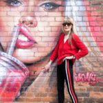 Street Art portrait of Carolne Coon by Melanie Smith
