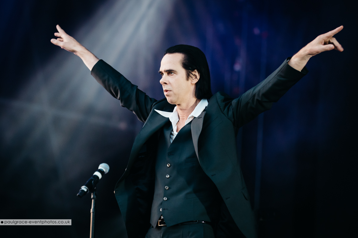 Nick Cave © Paul Grace