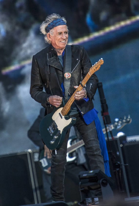 Keith Richards - Old Trafford - Mike Ainscoe 2