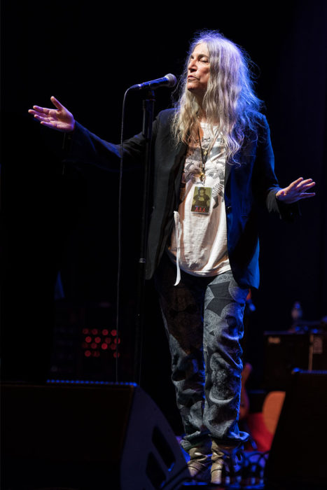 Patti Smith © Melanie Smith @ O2 Apollo, Manchester