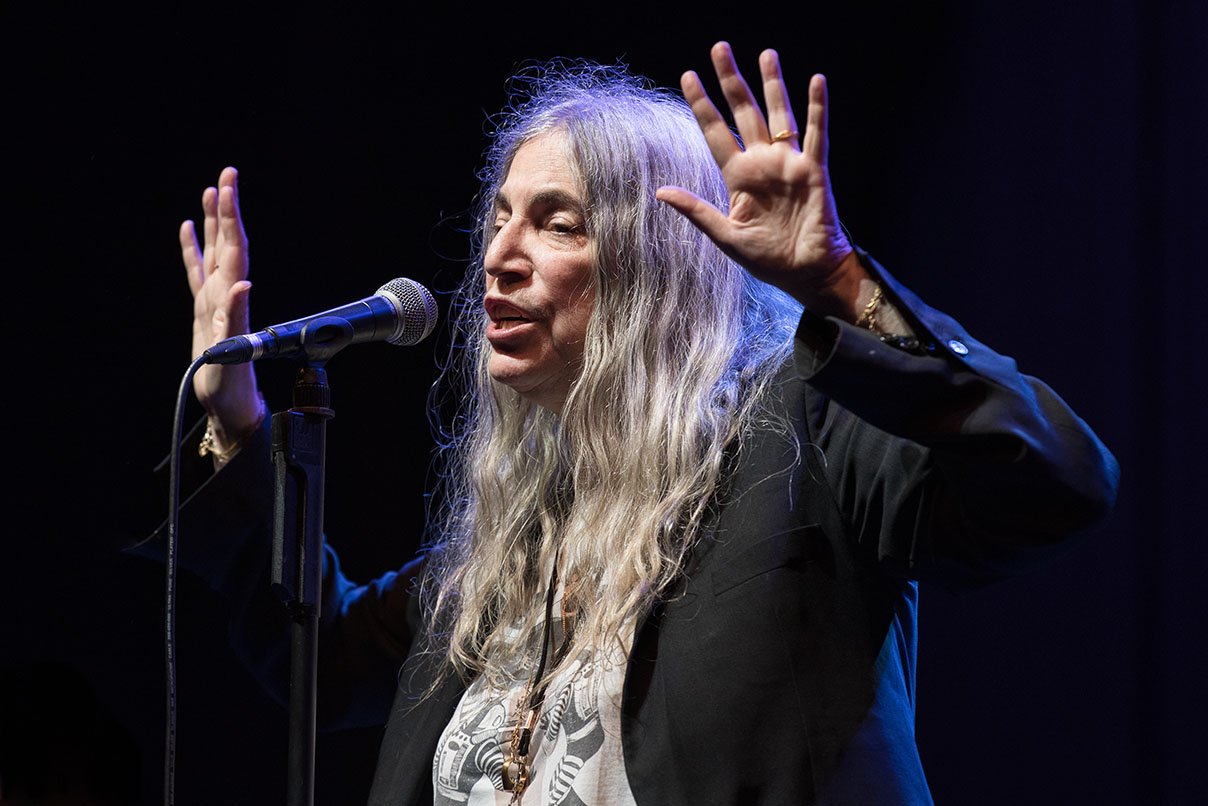 Patti Smith © Melanie Smith 05/06/18