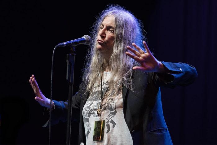 Patti Smith © Melanie Smith @ O2 Apollo, Manchester