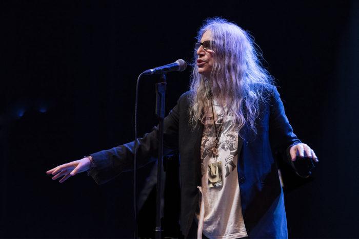 Patti Smith © Melanie Smith 05/06/18