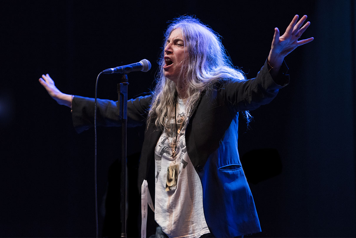 Patti Smith © Melanie Smith @ O1 Apollo, Mcr 05/06/18