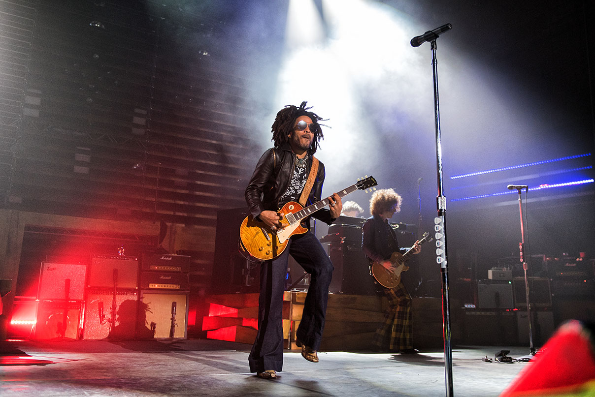 Lenny Kravitz © Melanie Smith